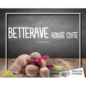 Betterave rouge cuite (500g)