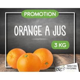 PROMO Orange à jus (3 kg)