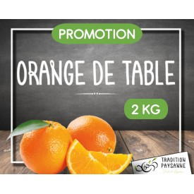 Promo Orange de table (2 kg)