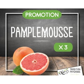 Promo Pamplemousse (3 pièces)