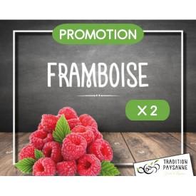 Framboise (2 barquettes de...