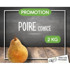 Promo Poire comice (2 kg)