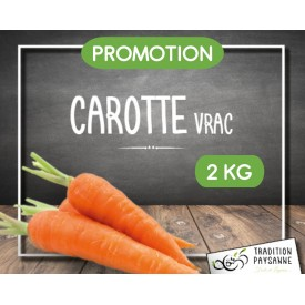 Carotte vrac 2 KG