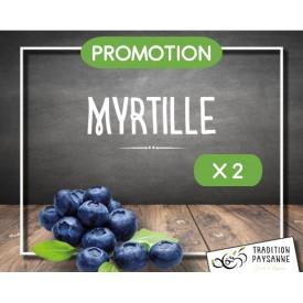 Myrtille (2 barquettes 125g)