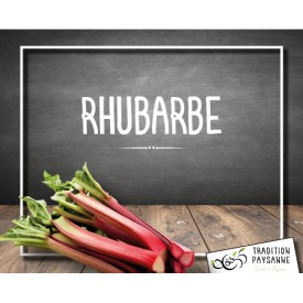 Rhubarbe (500g)