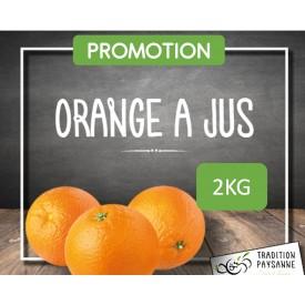 PROMO Orange à jus (2 kg)