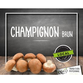 Champignon BIO brun LOCAL...