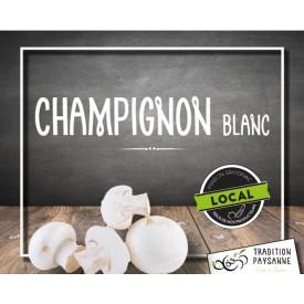 Champignon BIO blanc LOCAL...