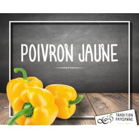 Poivron JAUNE (500g)